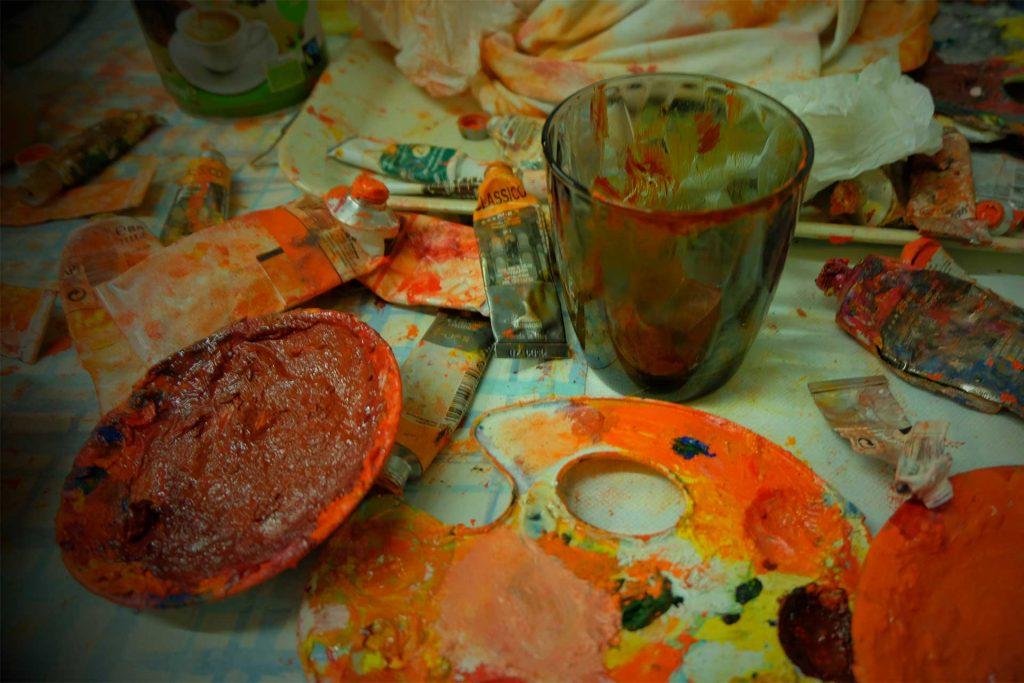 visual artist strumenti del pittore